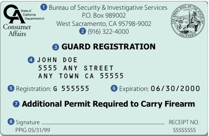 How do I get a California Security Guard Card? | Security